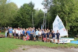 Gruppenbild des Bodenseezeltlager 2017, Marineverein Stuttgart