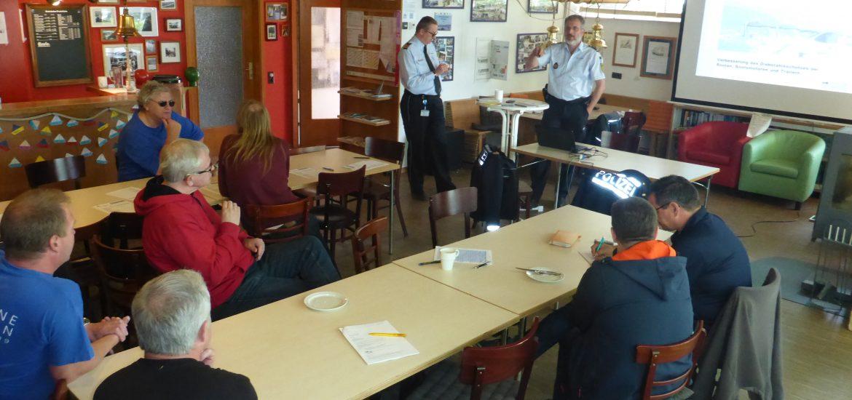 2017 Workshop der Wasserschutzpolizei am Max-Eyth-See im Vereinsheim Stuttgart