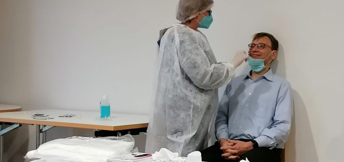 Fortbildung Coronatestung